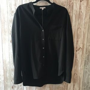 James Perse Tops - James Perse Collarless Button Down Shirt
